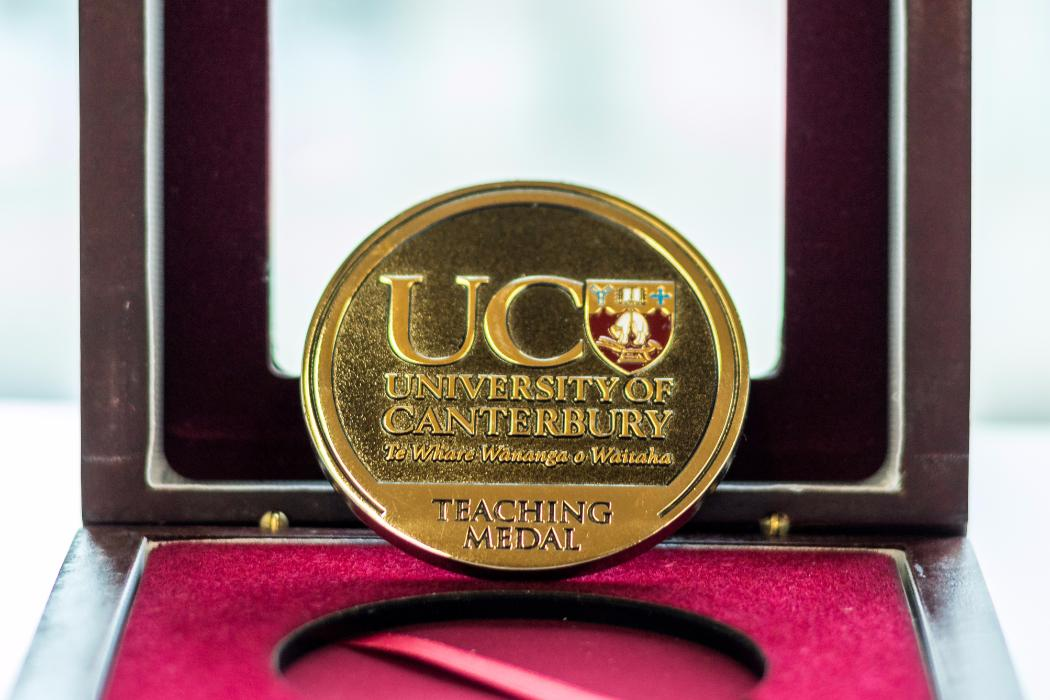 UC teaching medal