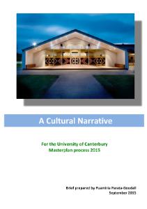 UC Cultural Narrative