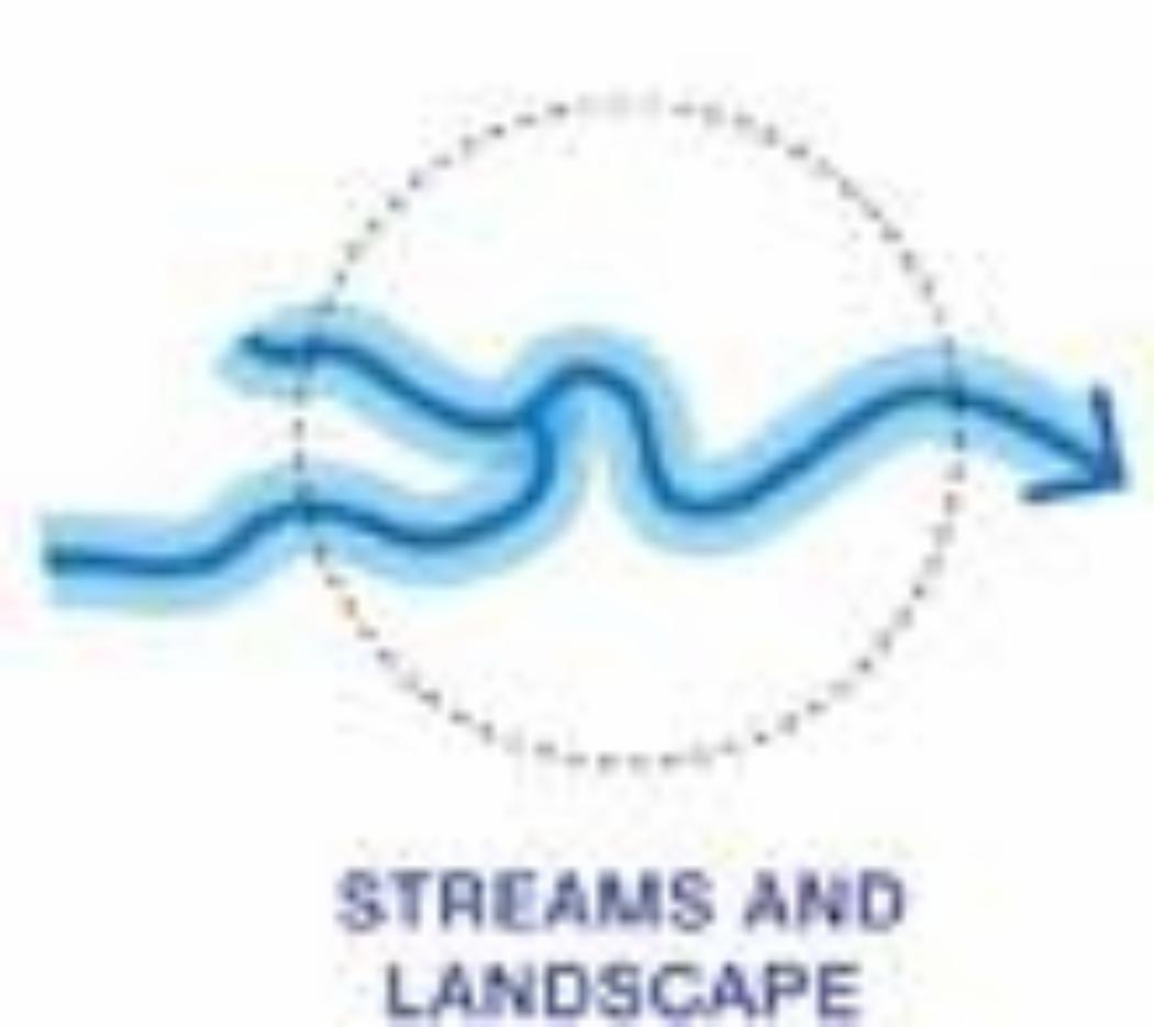 Streams and Landscape