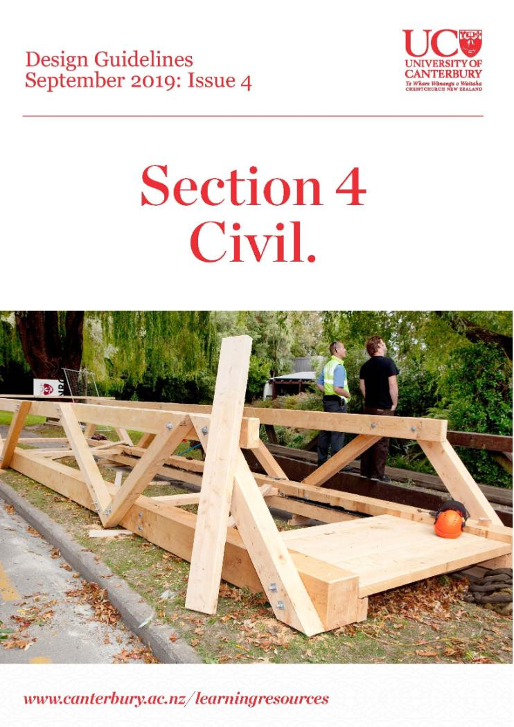 Design Guideline 2019 - Section 4 Civil