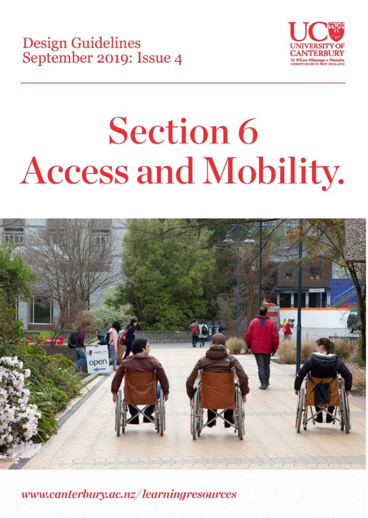Design Guidelines - Issue 4 - Access and Mobility