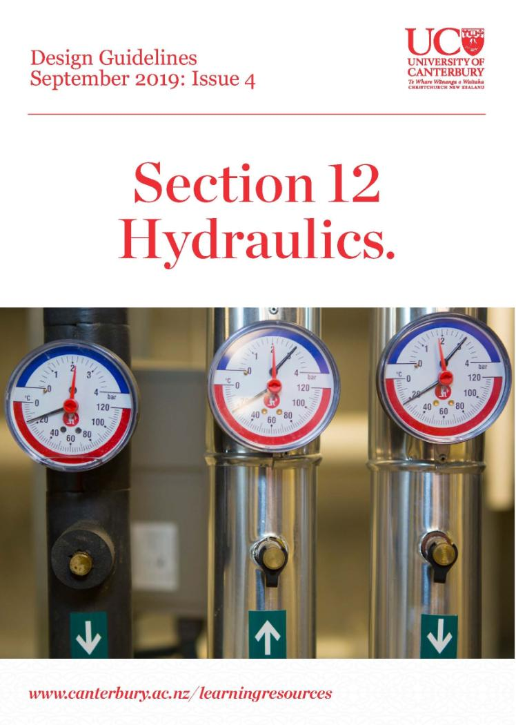 Design Guidelines Hydraulics