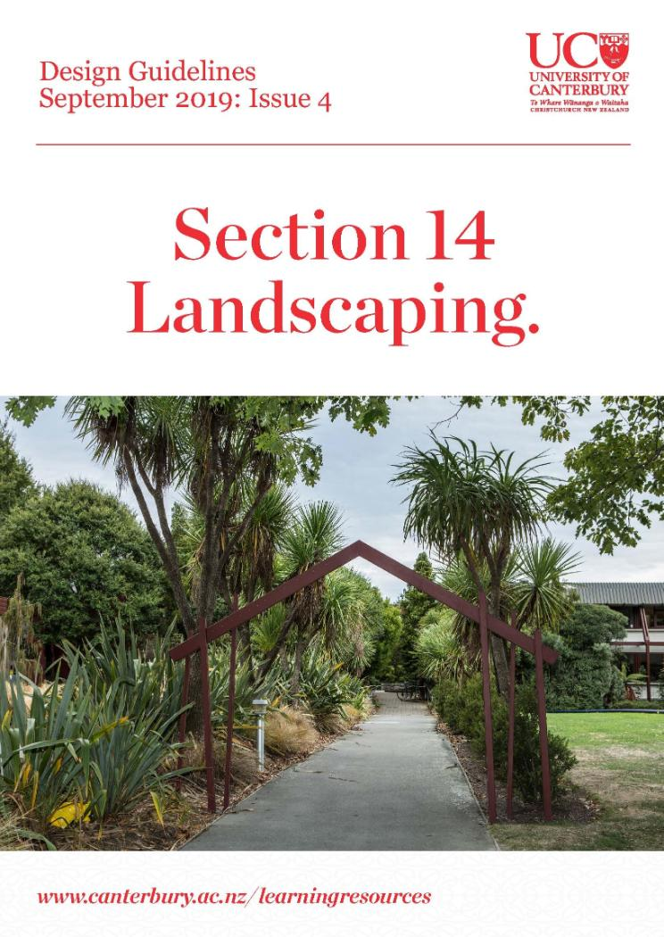 Design Guidelines Landscaping