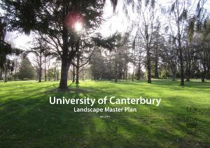 Landscape Master Plan 1 introduction