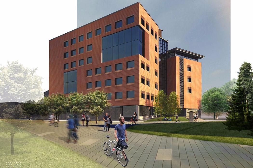 Rehua building exterior concept