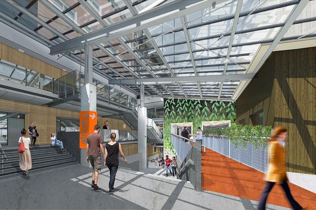 Rehua building interior concept