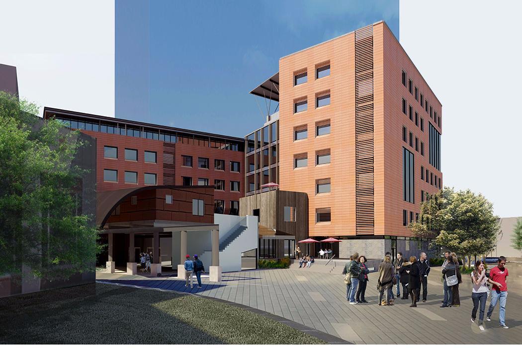 Rehua building exterior concept 2