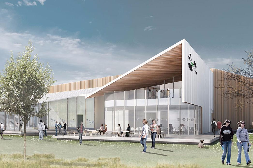 UCSA Haere-roa building concept