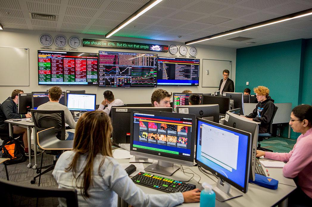 The Trading Room
