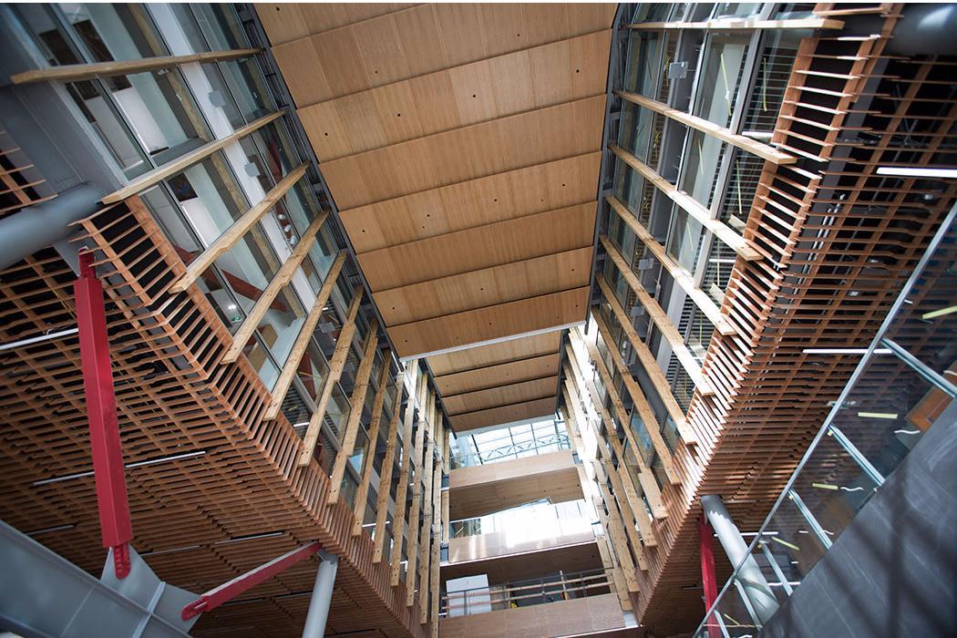 RRSIC building ceiling interior