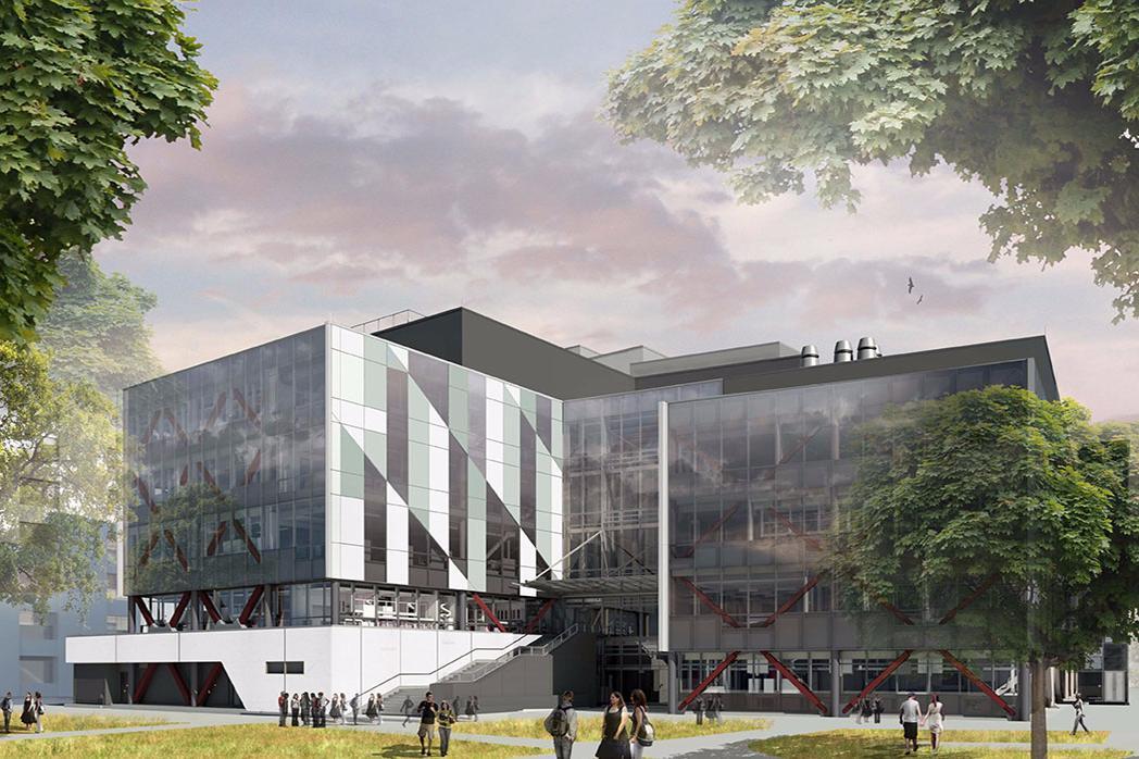 RRSIC building exterior concept