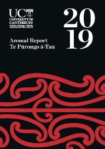 Annual Report 2019 Full