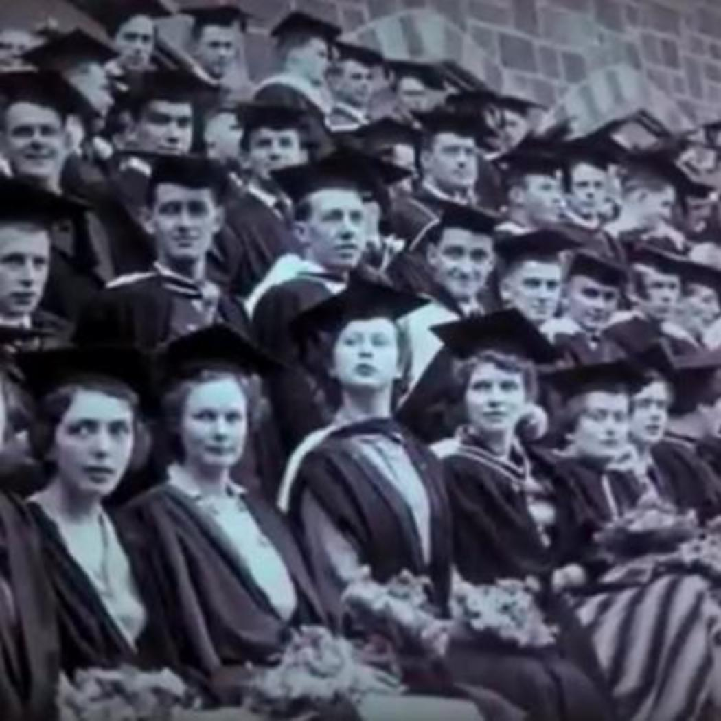 Historic Canterbury College graduates photo