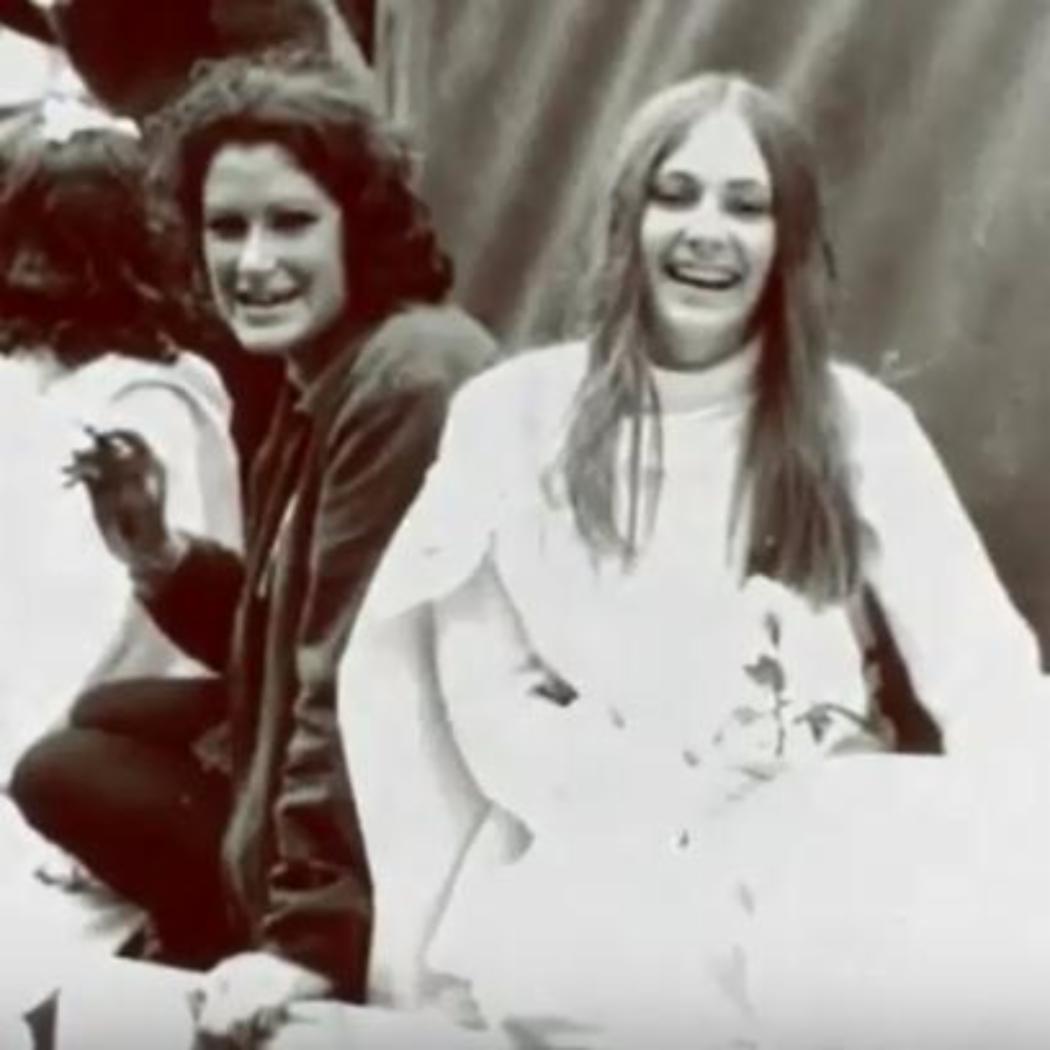 Historic UC female students photo