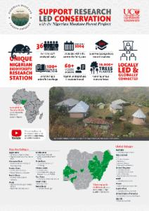 Support Research-led conservation in Nigeria