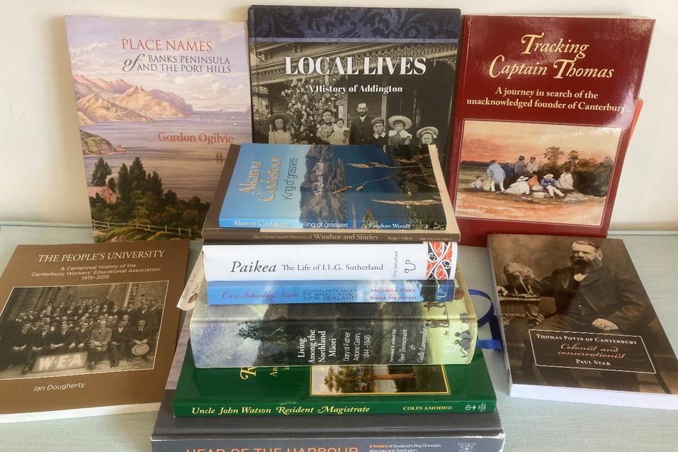 Canterbury History Foundation books