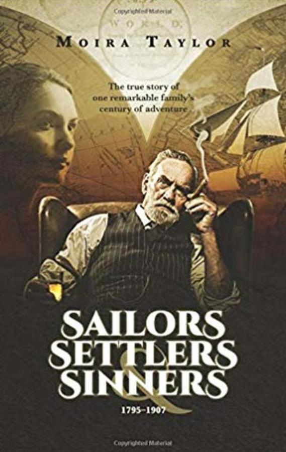 Sailors Settlers & Sinners alumni author book