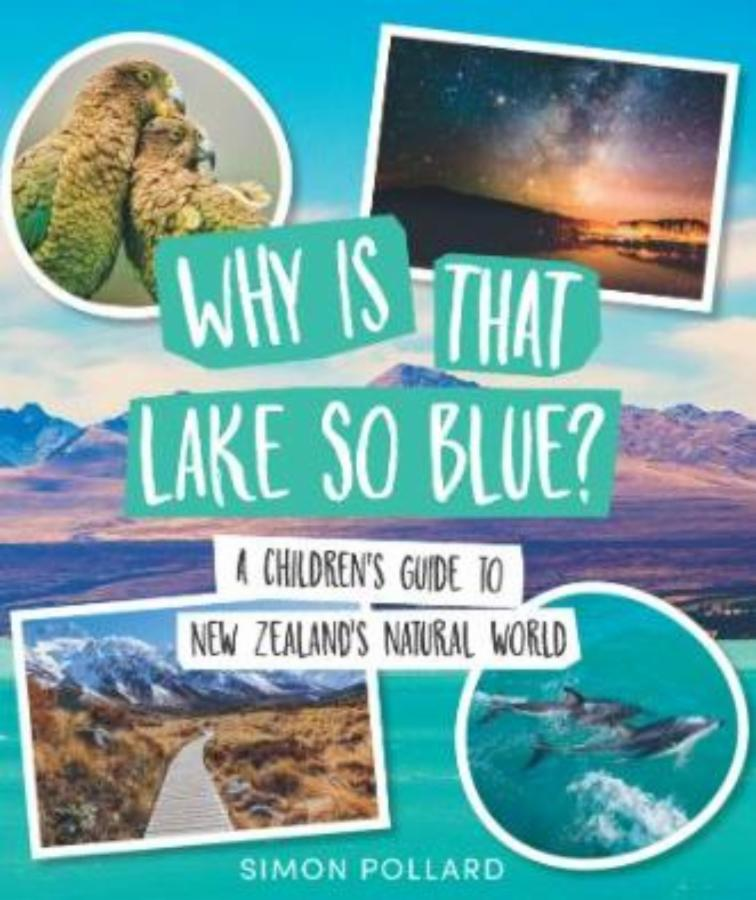 Why is the lake so blue?