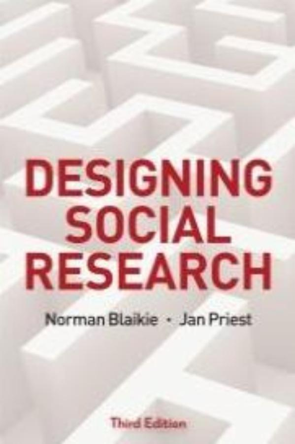 Designing Social Research, 3rd Ed