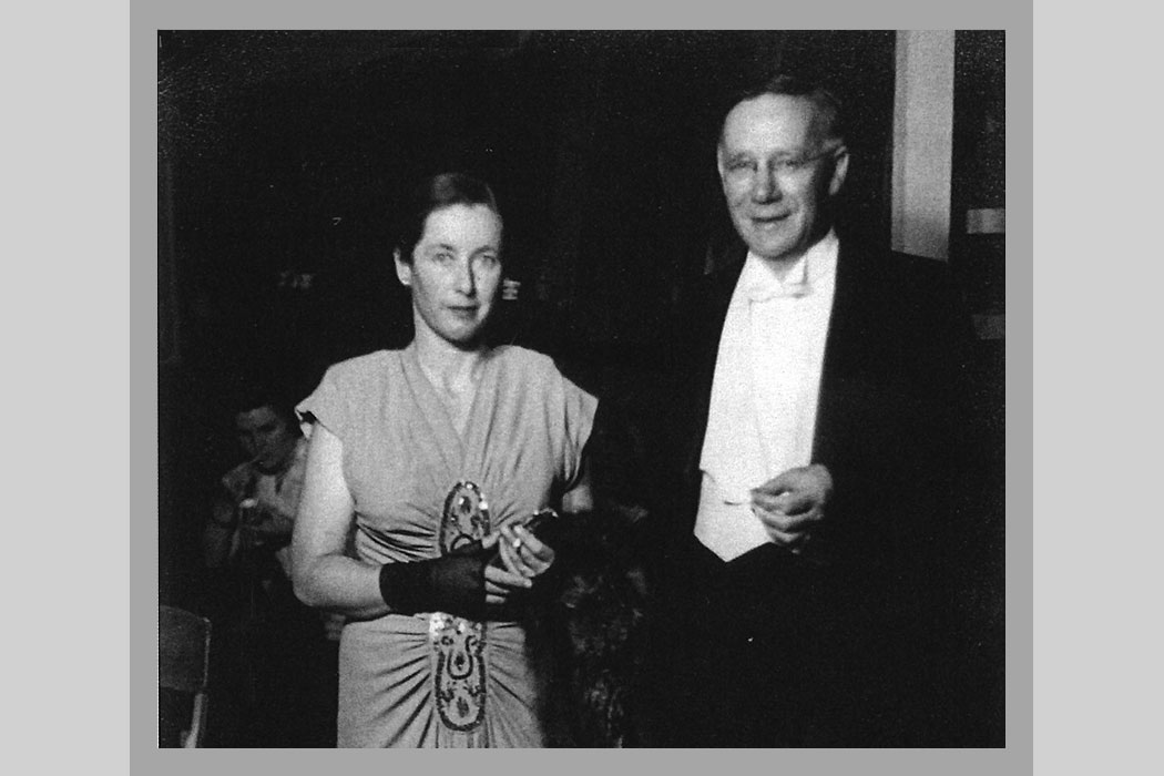 Marion Steven and James Logie