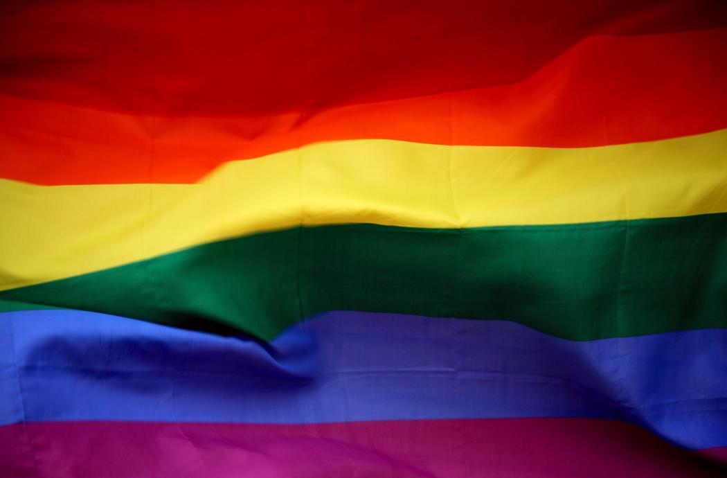 LGBT rainbow pride flag
