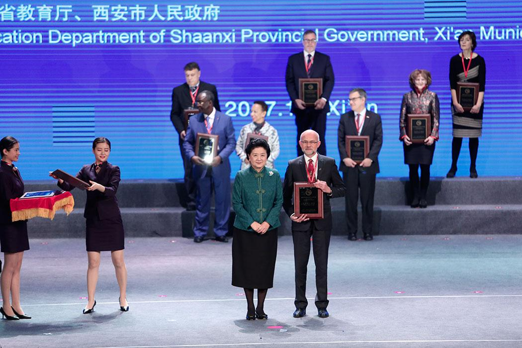 Confucius Institute wins global Institute award