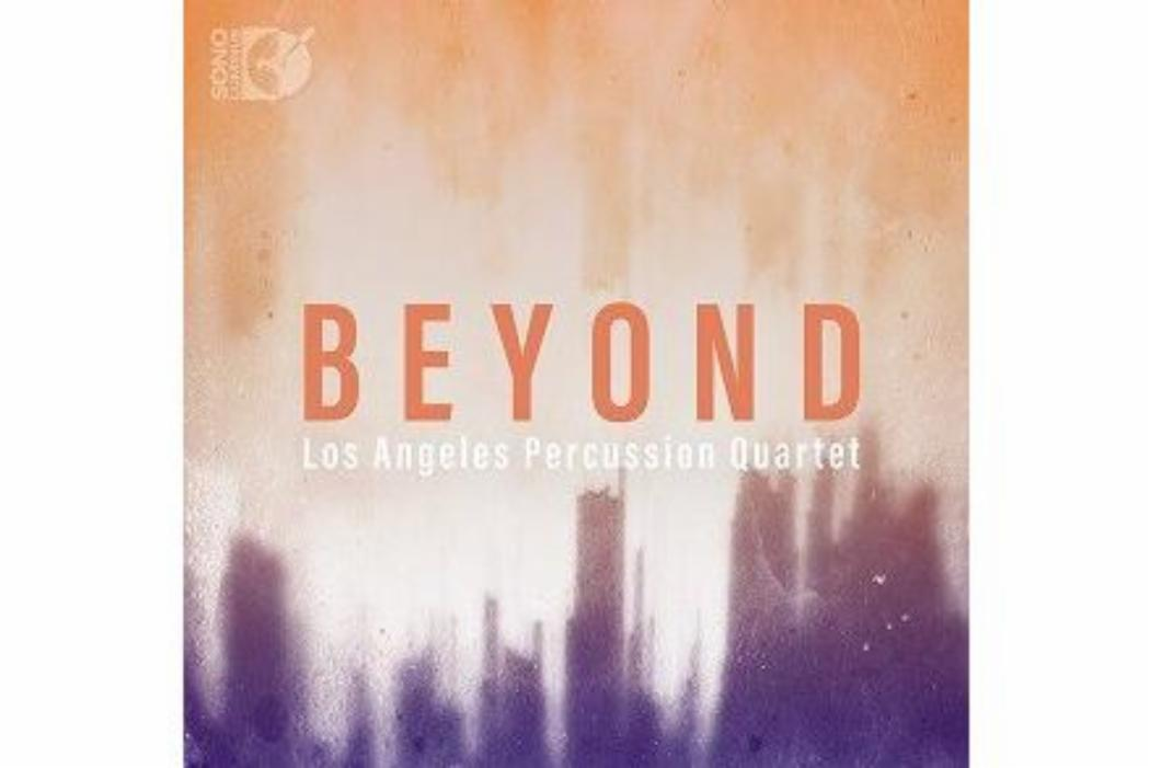 Percussion quartet's album cover BEYOND