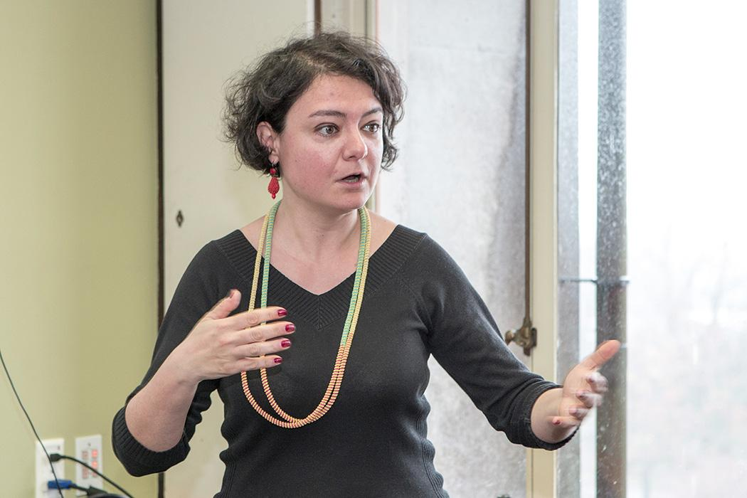 Francesca Comunello speaking