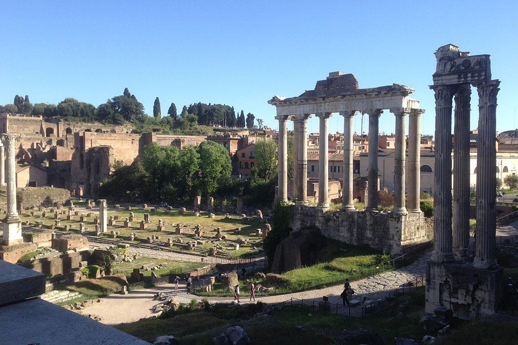 Classics Roman ruins