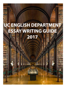 English Department Essay Writing Guide