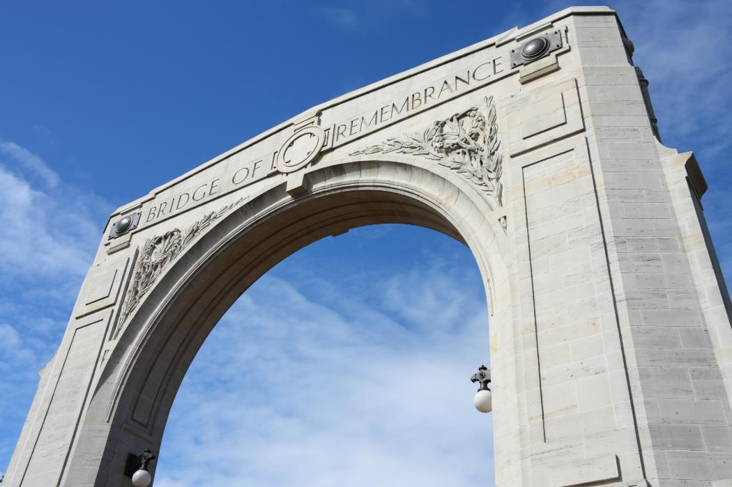 Bridge of remembrance-history-dpc