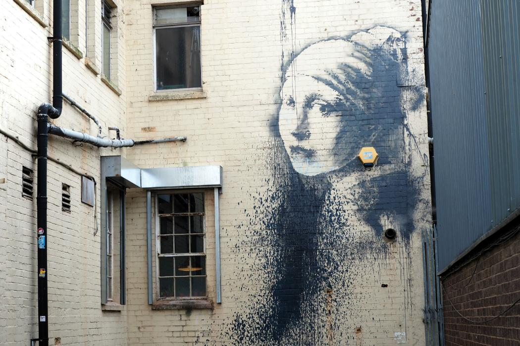 Banksygirl-street art-dpc