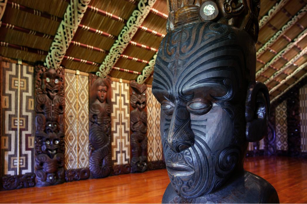interior of waitangi treaty house