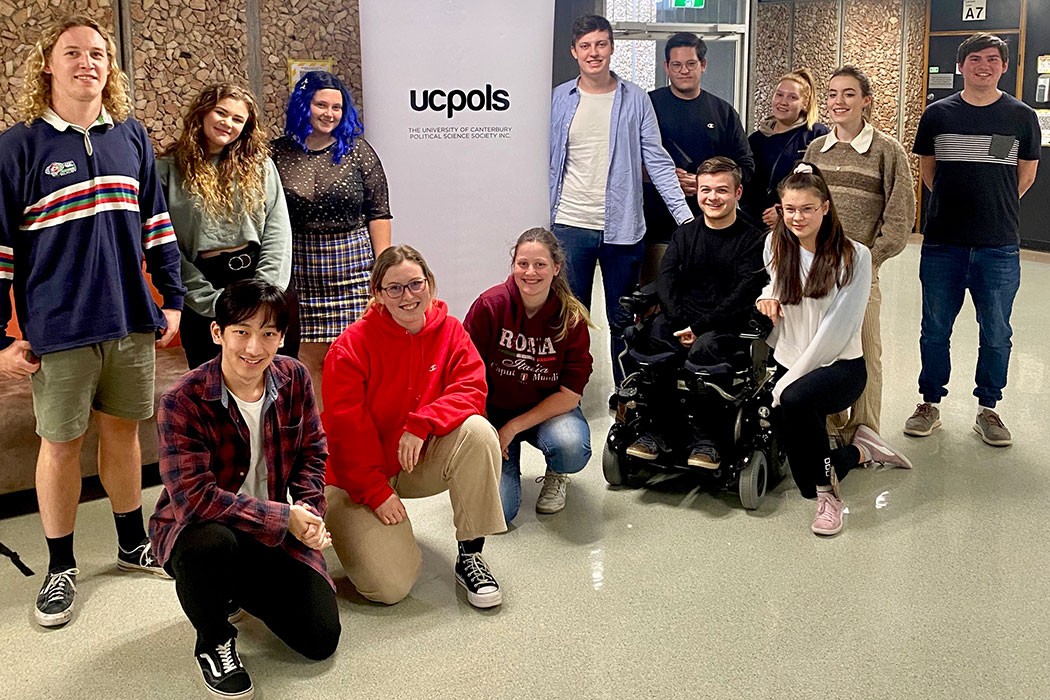 group photo of UC Pols Exec