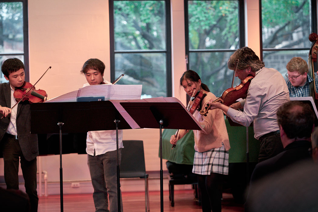 Student string class performance