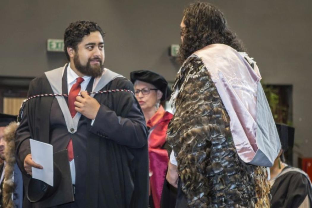 Maori graduate
