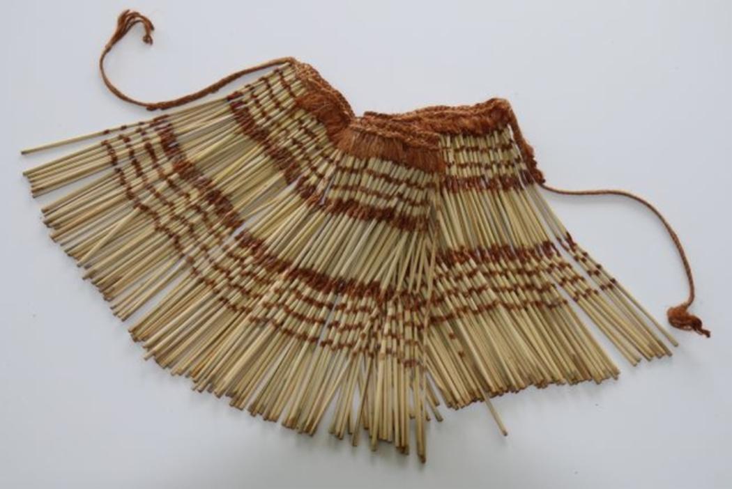 Maori art flax