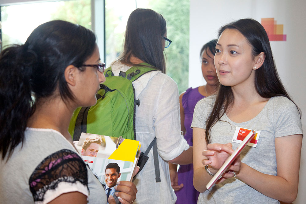 Careers expo student pwc landscape