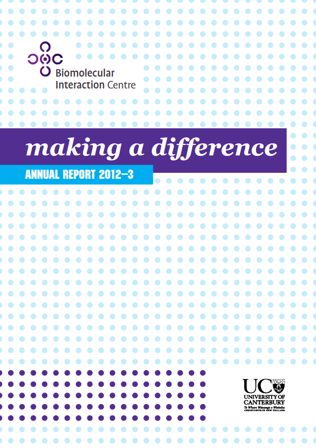 BIC Annual Report 2012—2013 cover p