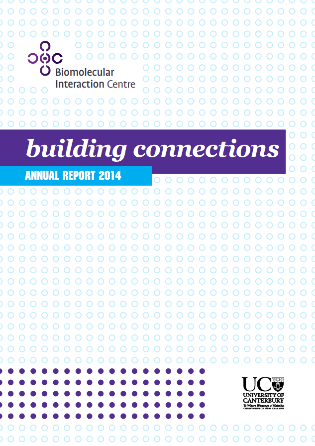 BIC Annual Report 2014 cover p