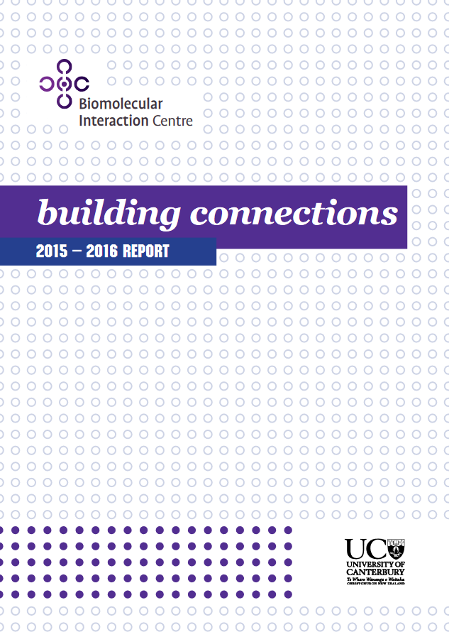BIC Annual Report 2015—2016 cover p