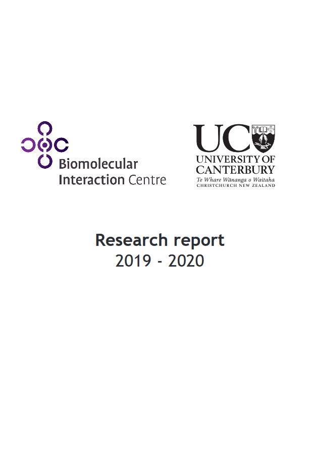 BIC Research Report 2019—2020 cover p