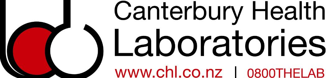 Canterbury Health Laboratories logo