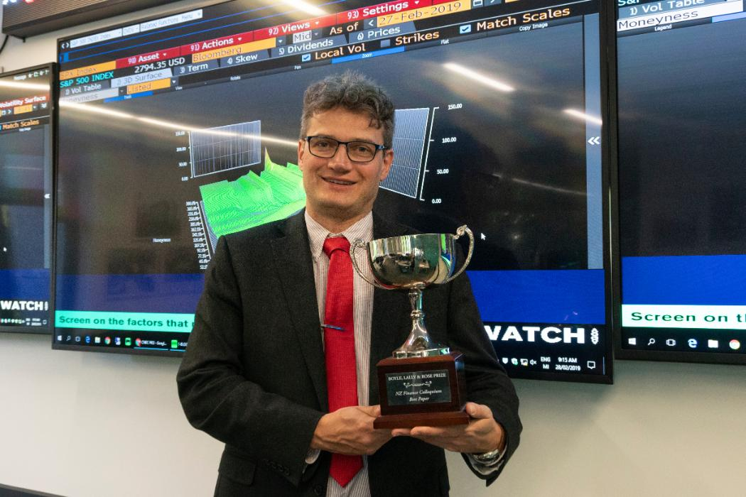 Jedrzej Bialkowski NZFC Award