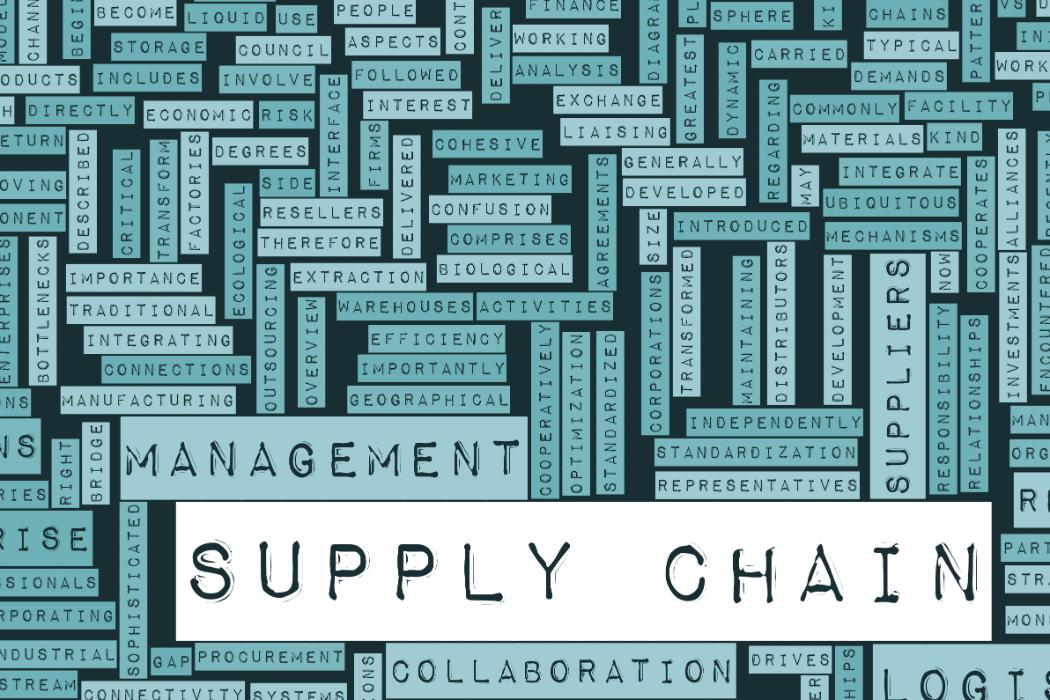 Work compilation revolving around supply chain
