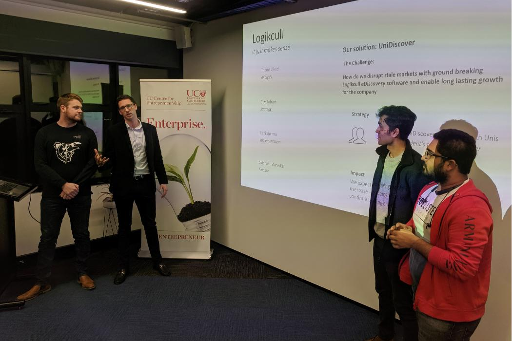 Logikcull 90 minute case competition