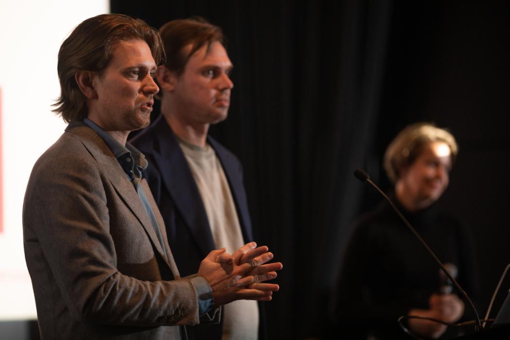 Reuben Bijl and Toby Vincent