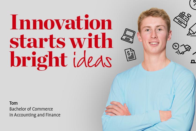 Tom business advertising banner