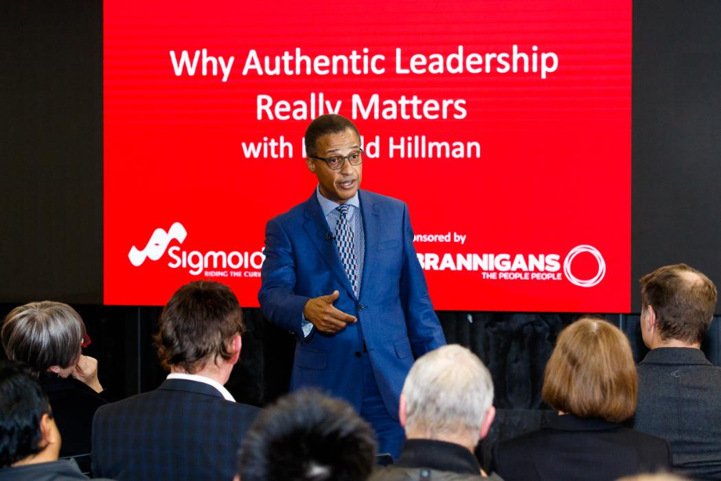 Harold Hillman Thought Leadership presenter