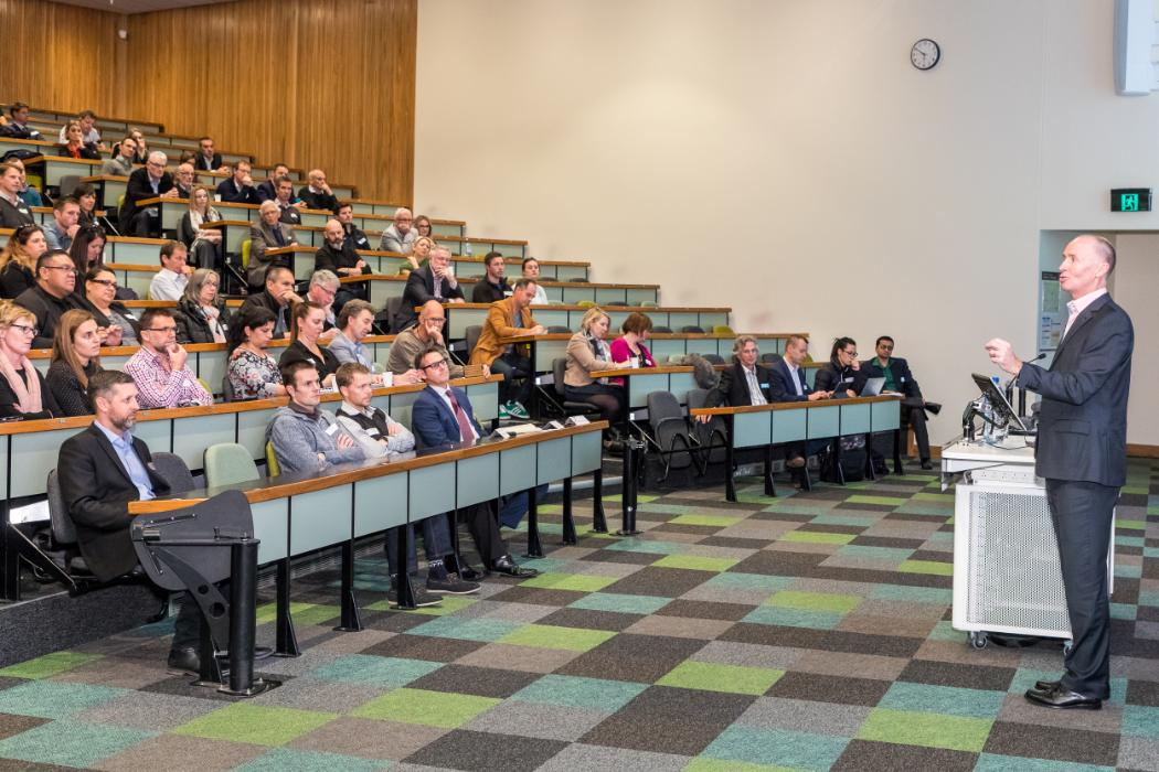 Mike Bennett Thought Leadership lecture audience